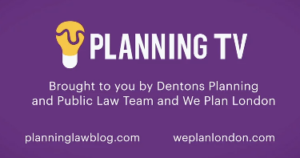 Planning TV - LOGO PURPLE BACKGROUND